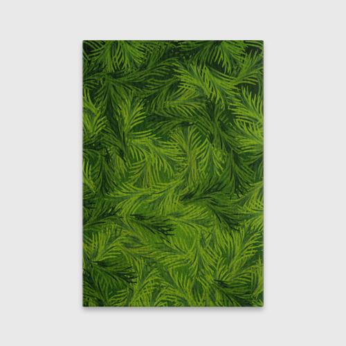 Обложка для паспорта матовая кожа Гринч Фото 01