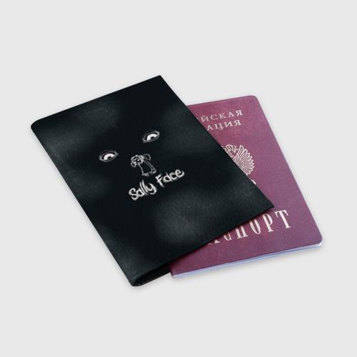 Обложка для паспорта матовая кожа Sally Face Фото 01