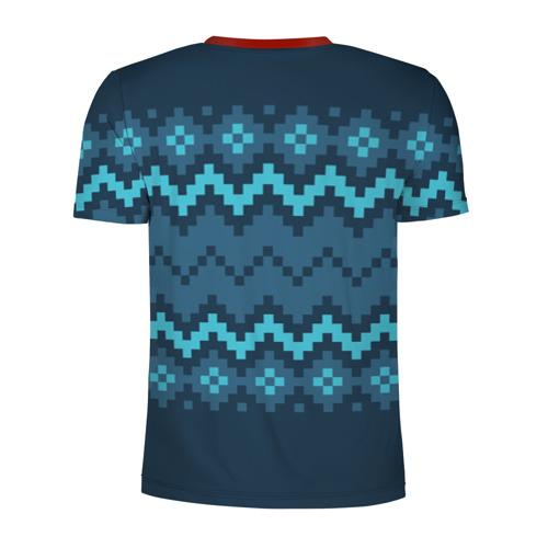 Мужская футболка 3D спортивная  Фото 02, Марио Санта Клаус