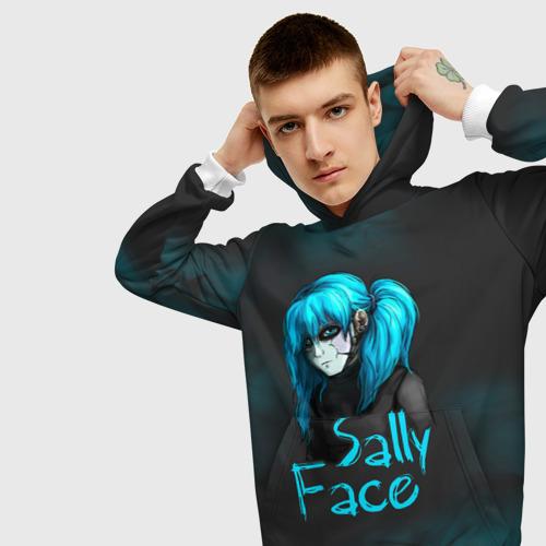 Мужская толстовка 3D Sally Face