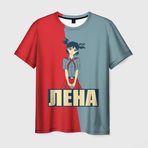 """3D футболка """"Лена"""" фото 0"""