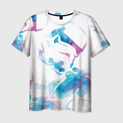 Мужская футболка 3D Штурмовик Фото 01
