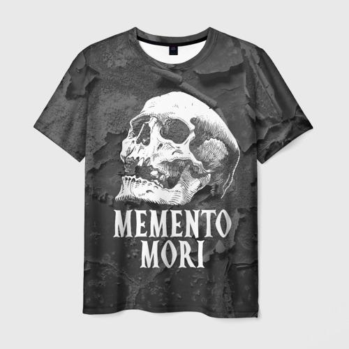 Мужская футболка 3D Memento mori