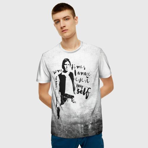 Мужская футболка 3D Хан Соло Фото 01