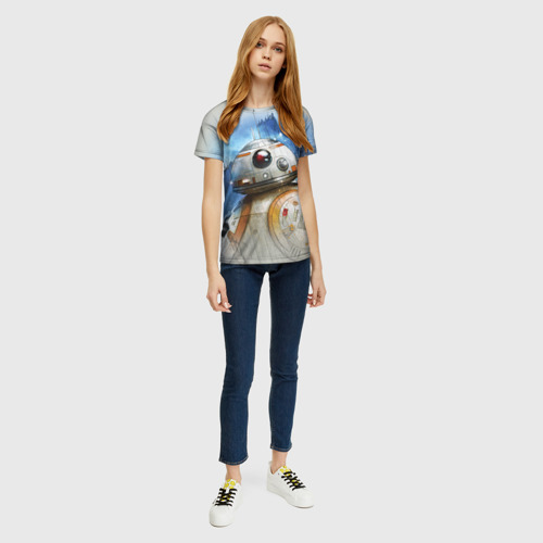 Женская футболка 3D BB-8 Фото 01