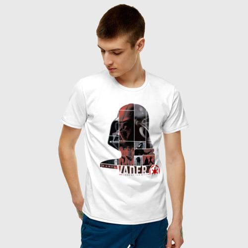 Мужская футболка хлопок Vader Фото 01
