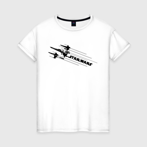 Женская футболка хлопок STAR WARS Фото 01