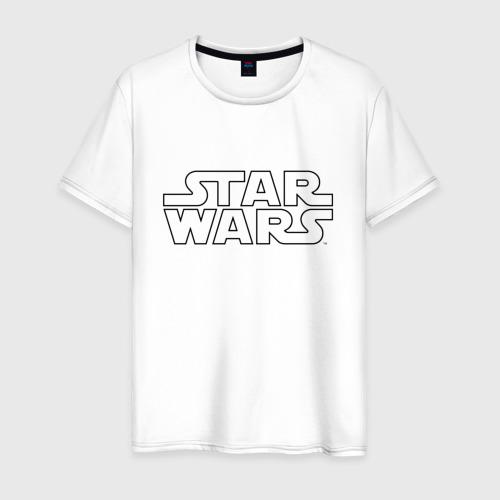 Мужская футболка хлопок STAR WARS logo Фото 01