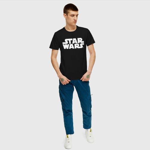 Мужская футболка хлопок Star Wars Фото 01