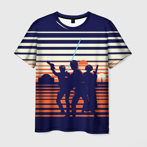 Мужская футболка 3D STAR WARS Фото 01