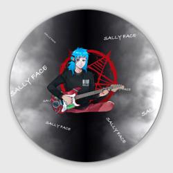 Sally Face with a Guitar