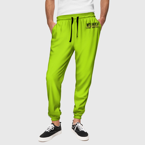 Мужские брюки 3D Serious зеленый брюки Фото 01