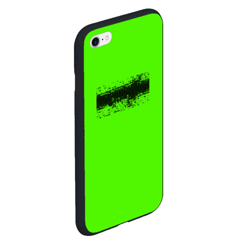 Чехол для iPhone 6/6S матовый Гранж зеленый Фото 01