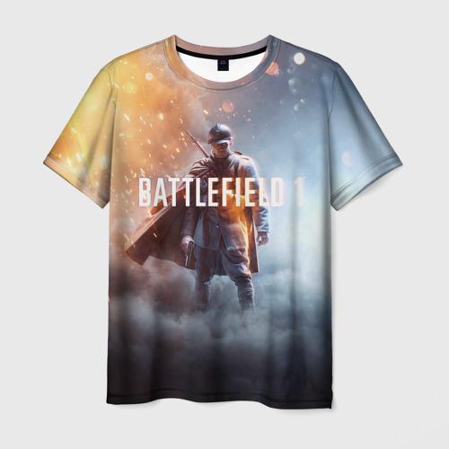 Мужская футболка 3D  Фото 03, BATTLEFIELD
