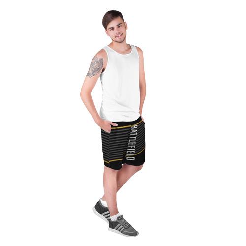 Мужские шорты 3D BATTLEFIELD Фото 01