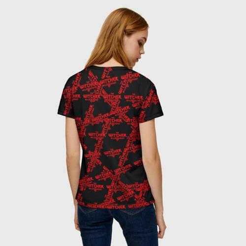 Женская футболка 3D Ведьмак 3: Дикая Охота Фото 01