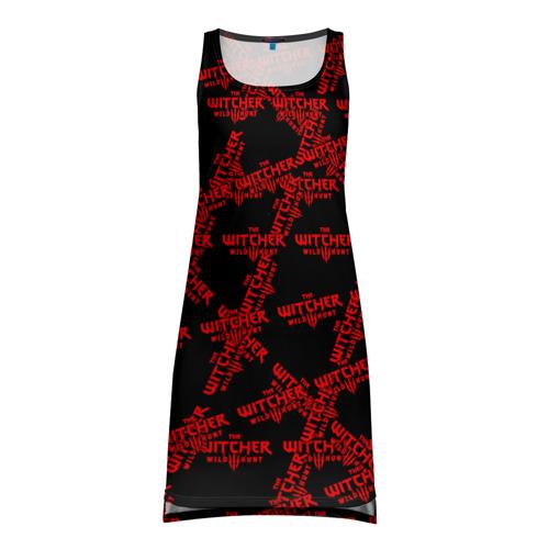 Платье-майка 3D Ведьмак 3: Дикая Охота Фото 01
