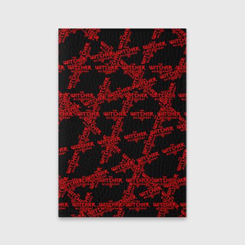 Обложка для паспорта матовая кожа Ведьмак 3: Дикая Охота Фото 01