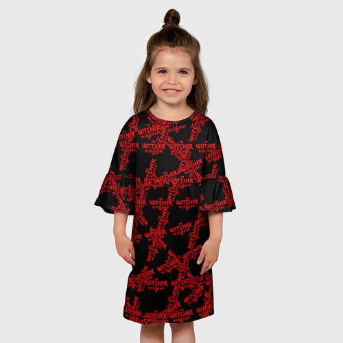 Детское платье 3D Ведьмак 3: Дикая Охота Фото 01