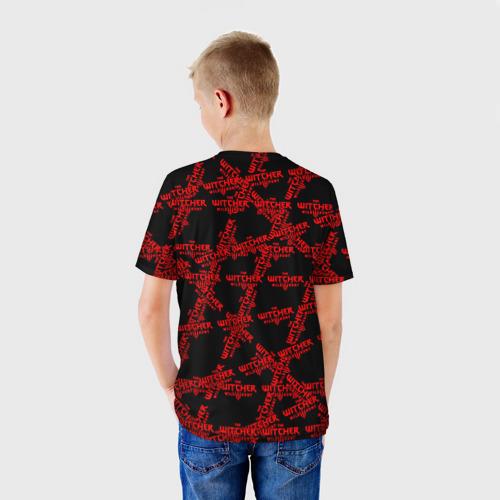 Детская футболка 3D Ведьмак 3: Дикая Охота Фото 01