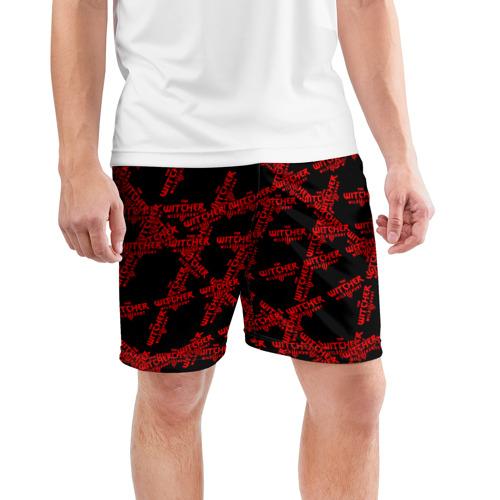 Мужские шорты 3D спортивные Ведьмак 3: Дикая Охота Фото 01