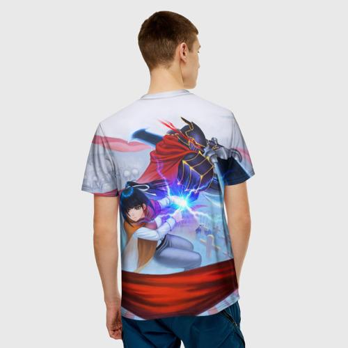 Мужская футболка 3D  Фото 02, Narberal и Ainz Ooal Gown