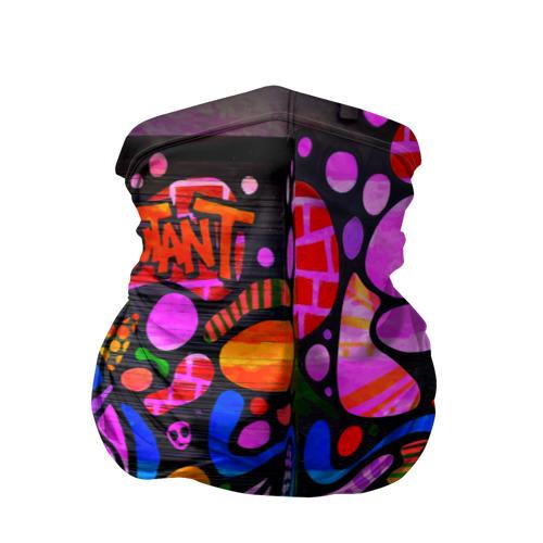 Бандана-труба 3D Неоновое граффити