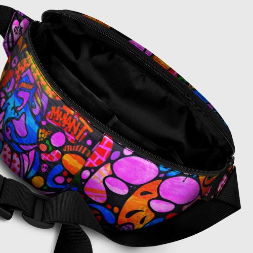 Поясная сумка 3D Неоновое граффити Фото 01