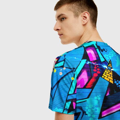 Мужская футболка 3D GRAFFITY Фото 01