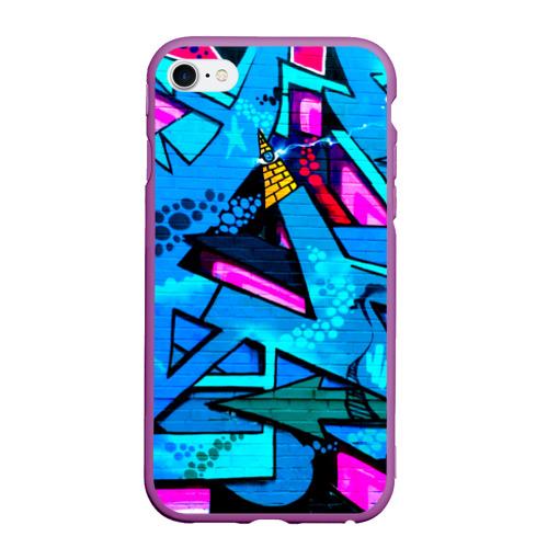 Чехол для iPhone 6/6S матовый GRAFFITY Фото 01