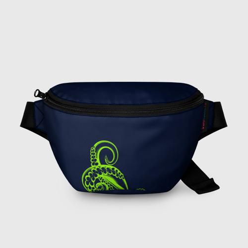 Поясная сумка 3D Кислотный осьминожка Фото 01