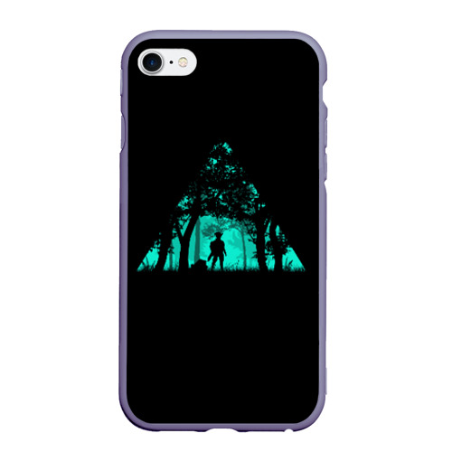 Чехол для iPhone 6/6S матовый Таинственный лес Фото 01