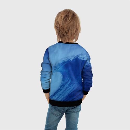 Детский свитшот 3D Вода: водород. Парные футболки Фото 01