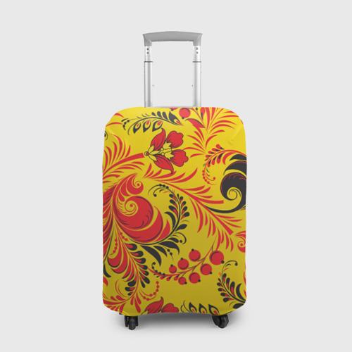 Чехол для чемодана 3D Русский узор Фото 01