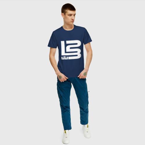 Мужская футболка хлопок Lebron James Фото 01