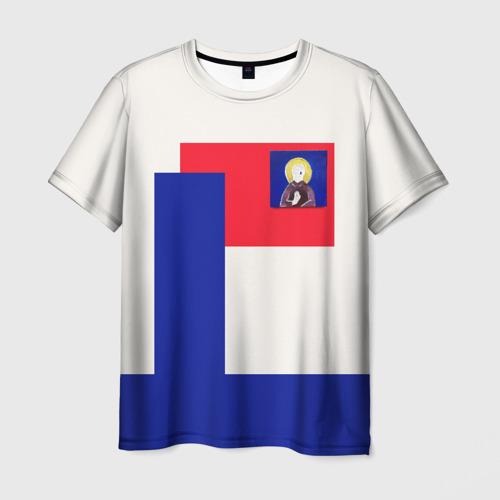 Мужская футболка 3D МОНЕТОЧКА