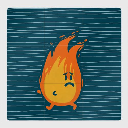 Магнитный плакат 3Х3 Огонь и Вода