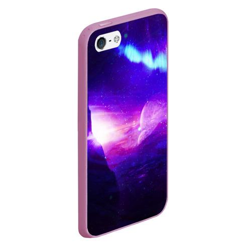 Чехол для iPhone 5/5S матовый Космическое сияние Фото 01