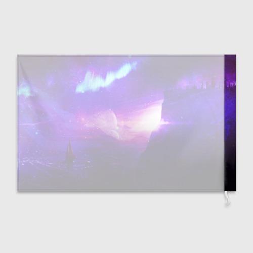 Флаг 3D Космическое сияние Фото 01