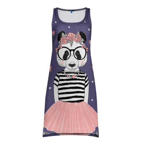Платье-майка 3D Panda girl