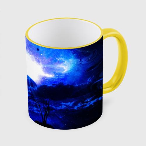 Кружка с полной запечаткой Космический закат