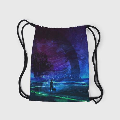 Рюкзак-мешок 3D  Фото 05, Парень и космос