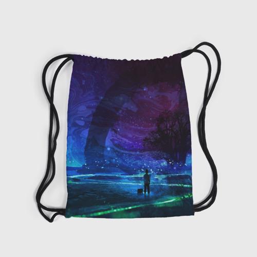 Рюкзак-мешок 3D  Фото 04, Парень и космос