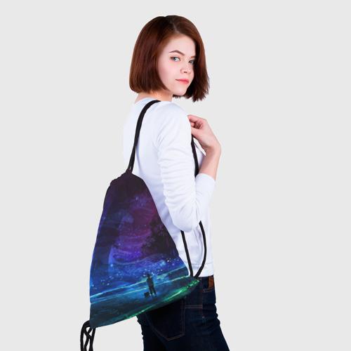 Рюкзак-мешок 3D  Фото 02, Парень и космос
