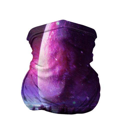 Бандана-труба 3D Северный закат