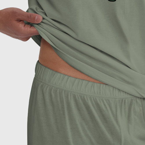 Мужская пижама хлопок Авокадо  Фото 01