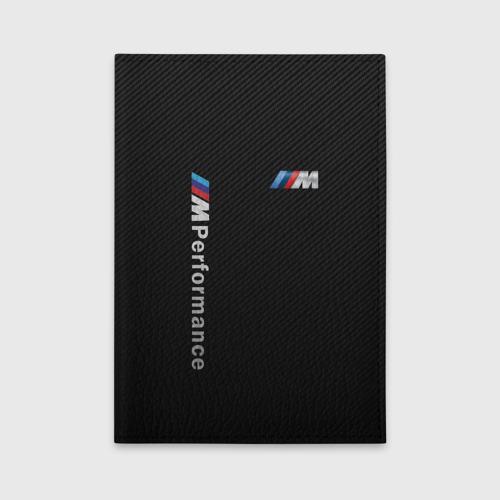 Обложка для автодокументов BMW M PERFORMANCE | CARBON | КАРБОН Фото 01
