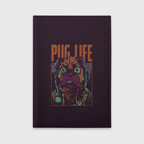 Обложка для автодокументов Pug Life Фото 01