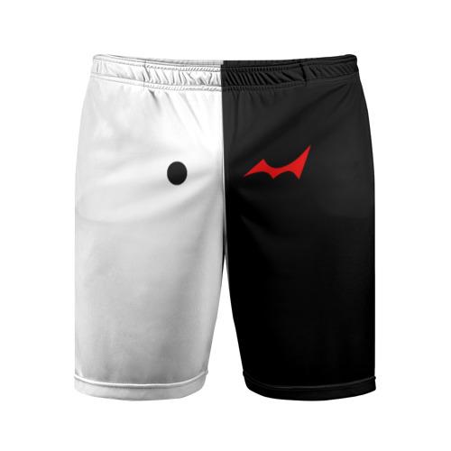 Мужские шорты 3D спортивные MONOKUMA Eyes Фото 01