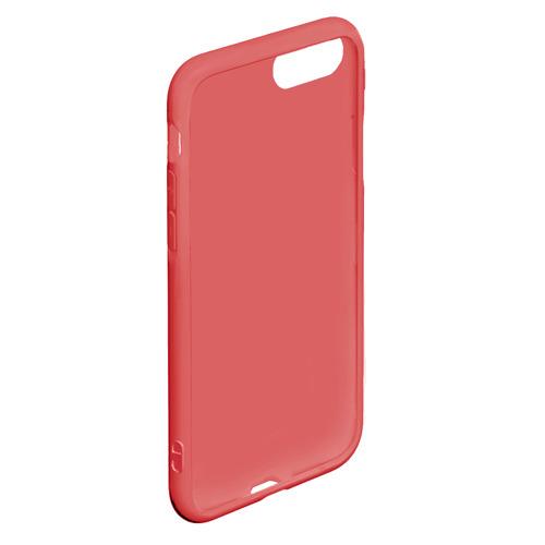 Чехол для iPhone 7/8 матовый Лисёнок и гирлянда  Фото 01